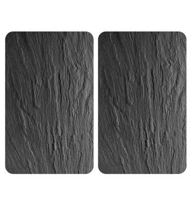 Placas Vidrio Cobertoras de Vitro Pizarra 2 Uds 30x1,8-4,5x52 cm - Wenko