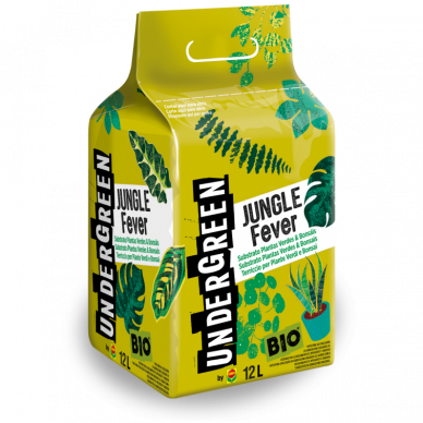 JUNGLE FEVER SUBSTRATO PLANTAS VERDES & BONSAIS 12L