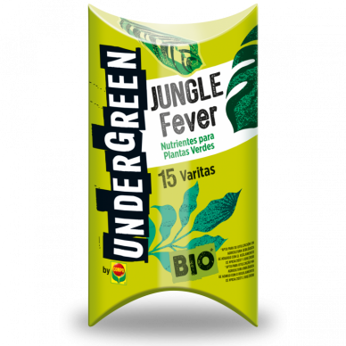 JUNGLE FEVER NUTRIENTES PLANTAS VERDES 15varitas