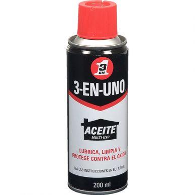 Aceite Multiusos WD 3-EN-UNO de 200 ml caja 12