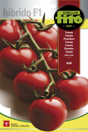 Híbridos de Tomate Rubí