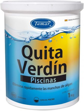 QUITAVERDIN PISCINAS 1 KG - Tamar