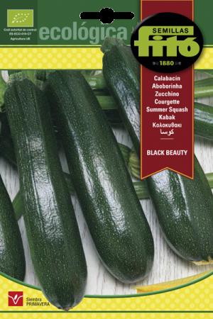 Semillas Ecológicas de Calabacín Belleza Negra, 6 gr