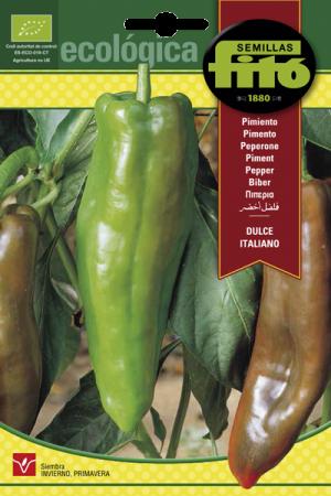 Semillas Ecológicas de Pimiento Dulce Italiano, 1 gr