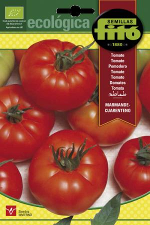 Semillas Ecológicas de Tomate Marmande-Cuatenteno.