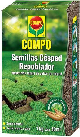 Semillas Césped Repoblador - Compo - 1Kg