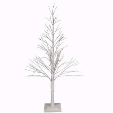 Árbol Navidad con luz LED Blanco 120cm