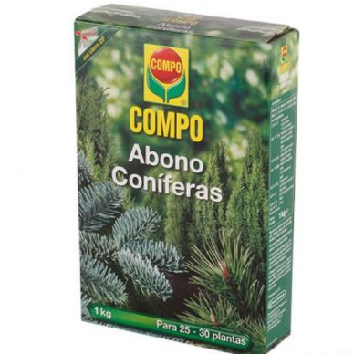 ABONO CONÍFERAS - COMPO - 1Kg