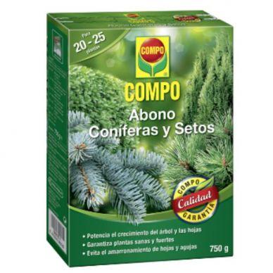Abono Coníferas y Setos - Compo - 750g
