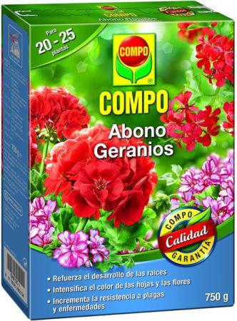 ABONO GERANIOS - COMPO - 1Kg