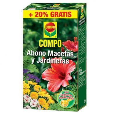 Abono Macetas y Jardineras - Compo - 300g