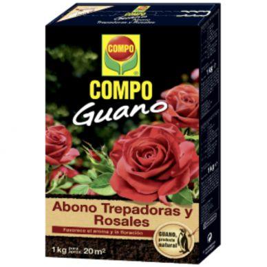 ABONO TREPADORAS Y ROSALES GUANO - COMPO - 1Kg