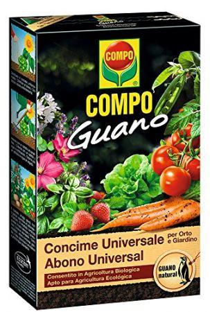 ABONO UNIVERSAL GUANO - COMPO - 1Kg