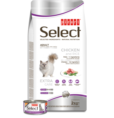 Select Cat Adult - Picart - 2 kg