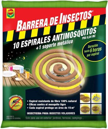 BARRERA DE INSECTOS ESPIRAL ANTIMOSQUITOS - COMPO