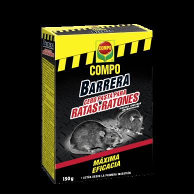 Barrera de Roedores Cebo Pasta - Compo - 150 g