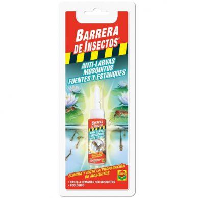 Barrera anti larvas, mosquitos en fuentes y estanques - Compo - 20ml