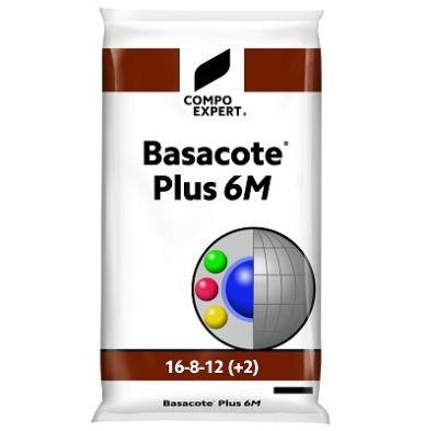 BASACOTE PLUS 6M 16-8-12(+2Mg), 25 Kg.