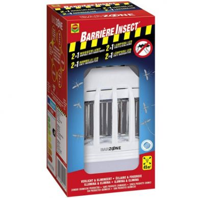 Bombilla LED Barrera de insectos Ilumina y Elimina - Compo