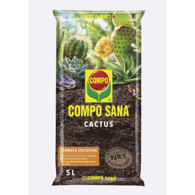 Sustrato Cactus - Compo Sana - 5L