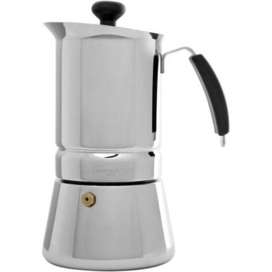 Cafetera inox Arges 6 tazas -Oroley -