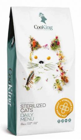 COOKING CAT ADULT STERILIZED