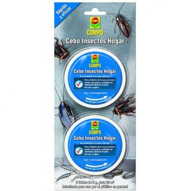 Cebo Insectos Hogar - Compo - 6g