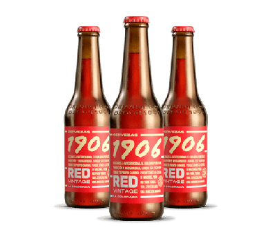 Cerveza 1906 Red Vintage - Estrella Galicia - Pack 6 x 330 ml