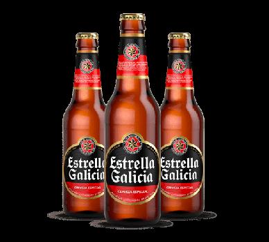 Cerveza especial - Estrella Galicia - Pack 6 x 250 ml