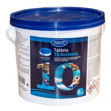 CLORO 10 ACCIONES 5 kg EN TABLETAS 200g - Tamar