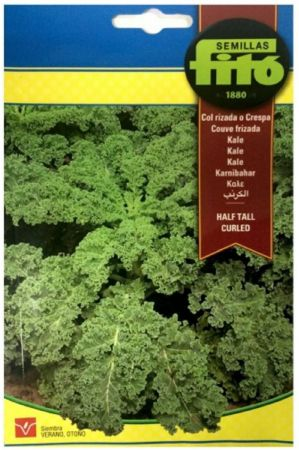 Col Rizada Kale - Semillas Fitó