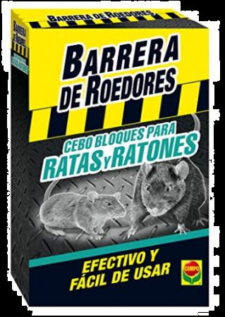 Barrera De Roedores Bloques, 12 x 400 gr