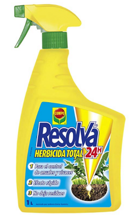 Resolva 24h Herbicida Total Spray, 1L