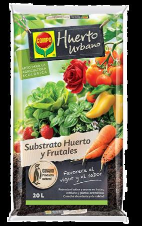 Sustrato Huerto y Frutales - Compo - 20L