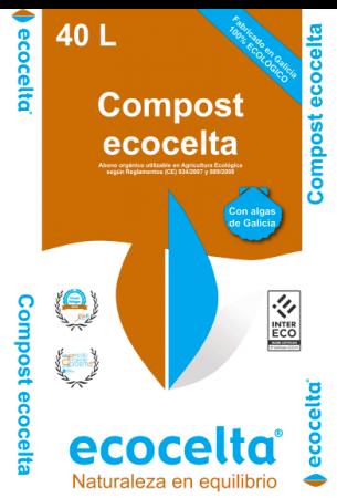 COMPOST ORGÁNICO - ECOCELTA - 40 L