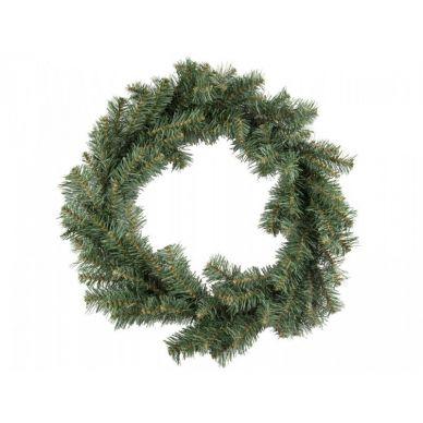 Corona Pino Navidad Verde 50cm