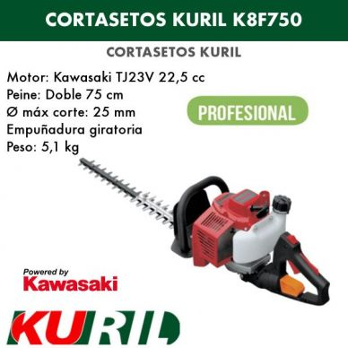 CORTASETOS KURIL K8F750