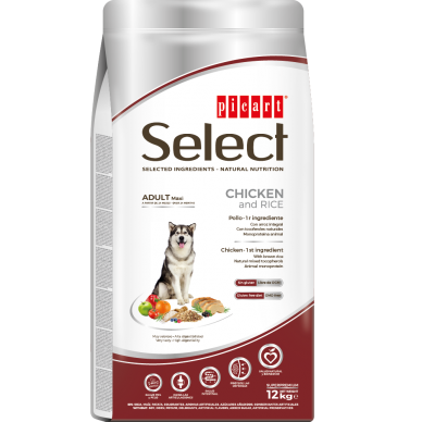 Select Adult Maxi Chicken&Rice - Picart - 12 kg