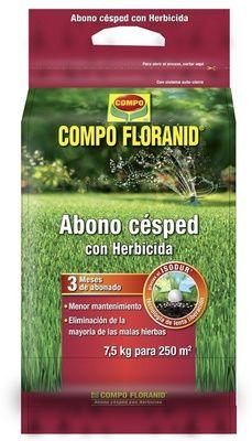 Abono Césped + Herbicida Floranid - Compo - 7,5 kg