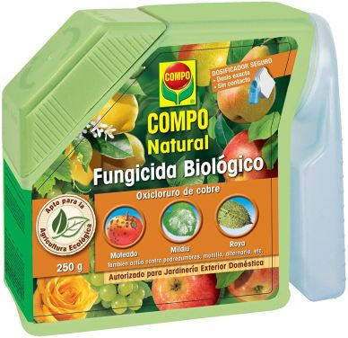 FUNGICIDA BIOLÓGICO FARMACOP 50 PM - COMPO NATURAL - 250g