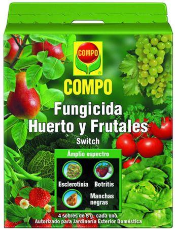 FUNGICIDA HUERTO Y FRUTALES Switch - COMPO - 20g