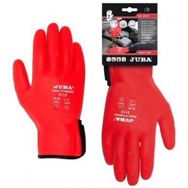 GUANTES JUBA AGILITY RED 5115