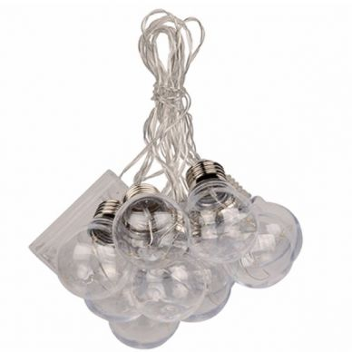Guirnalda luces LED Bombillas Clasicas 5,7m