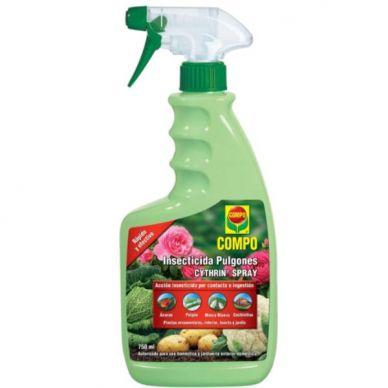 Insecticida Pulgón Cythrin Spray - Compo - 750ml