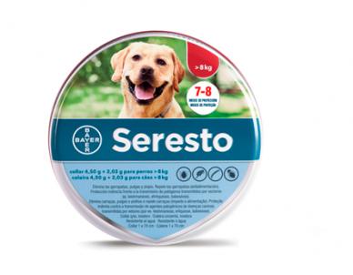 Collar Antiparasitario Seresto - Bayer - Perro Grande (+8 kg)