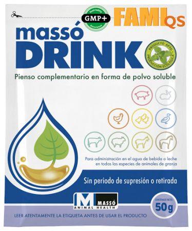 Massodrink Pienso complementario polvo soluble Massó Drink - 50g
