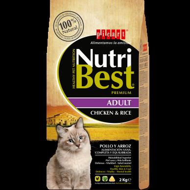 NutriBest Cat Chicken & Rice - Picart - 15Kg