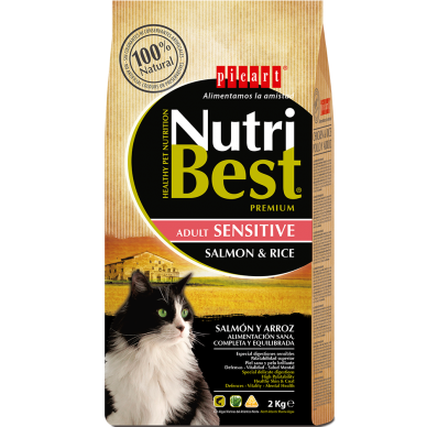 NutriBest Cat Sensitive Salmon & RIce