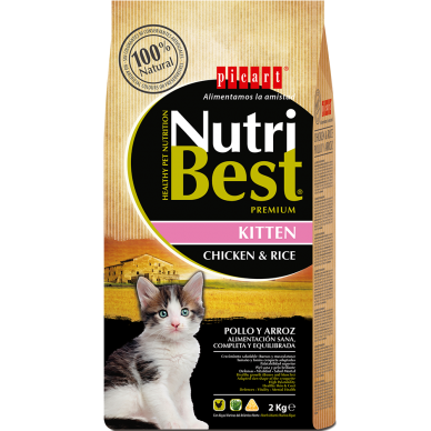NutriBest Cat Kitten - Picart - 2Kg