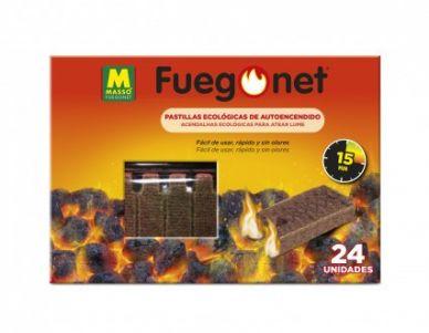 Pastillas ecológicas autoencendido Fuego Net - Massó